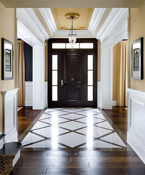 Ballard Design Furniture elegant foyer decor ideas