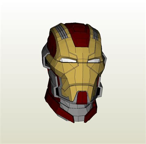 Iron man mark 38 pepakura files free