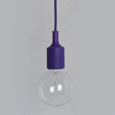 Ceiling Light Bulb Holder 1xsilicone E27 Home Ceiling Pendant L Light Bulb Holder Hanging Fixture Decor Ebay