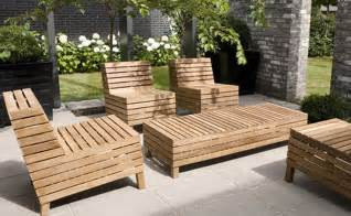 Homemade Outdoor Furniture Ideas
