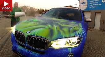 color changing paint for cars bmw x6 change its color when exposed to warm water
