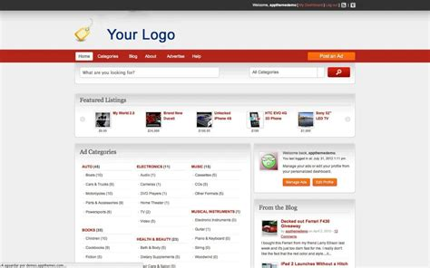 professional classifieds directory website  year
