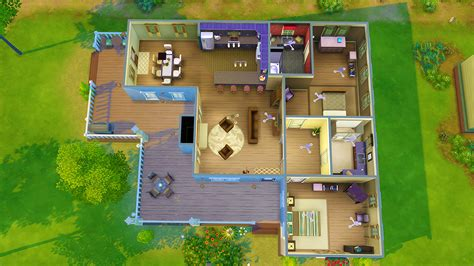 sims 3 4 bedroom house my sims 4 blog two bedroom house by seventhecho
