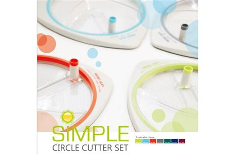 Circle Cutter Paper Craft - simple circle shape rotary paper cutter for school
