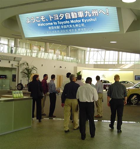 toyota motors japan got boondoggle japan day 1 toyota motor kyushu