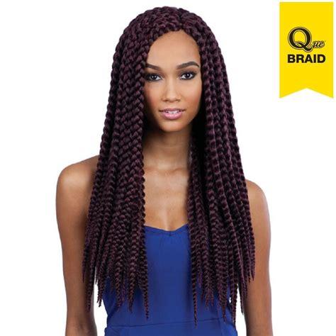 latch hook braid hair pack que jumbo box braid 2x crochet latch hook shake n go