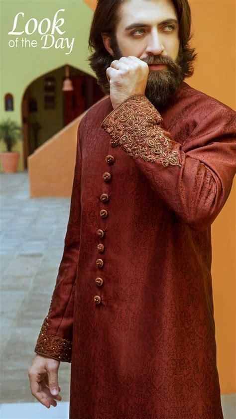 Amir Adnan Men Ceremony Kurtas Waist Coat Collection 2018 2019