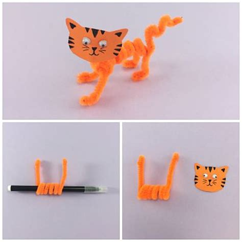 pipe cleaner crafts for pipe cleaner animals for persil
