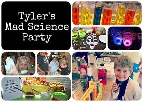 birthday ideas birthday ideas mad scientist