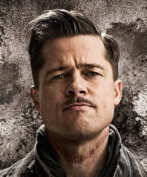 brad pitt inglorious bastard haircut top 10 brad pitt s awesome memorable movie hairstyles