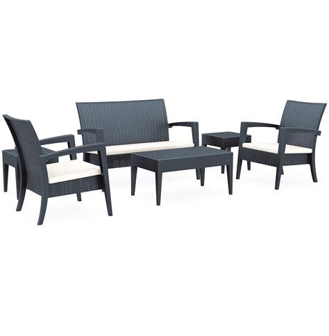 Salon De Jardin Lounge Plastique