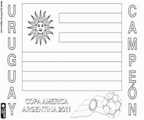 coloring pages for uruguay football or soccer chionships coloring pages