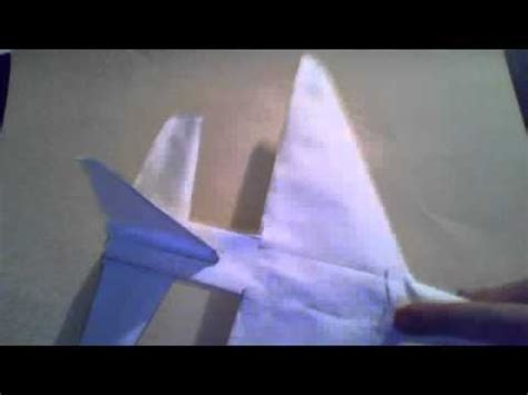 3d Origami Airplane - how to make a 3d paper plane