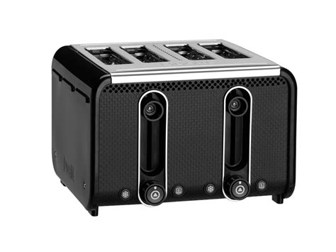 Studio Toaster Black Polished Trim Black Polished Trim Studio By Dualit