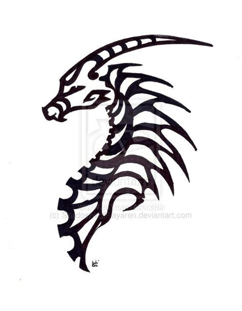 easy tattoo of dragon 78 best images about tribal drawing on pinterest tribal