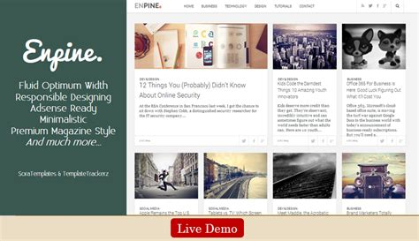 magazine style templates for blogger top 35 free magazine blogger template updated 06 2014
