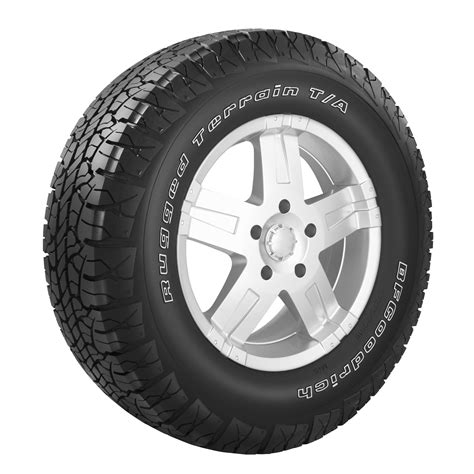 bf goodrich rugged terrain p265 70r17 bfgoodrich rugged terrain t a p265 70r17 113t owl all season tire shop your way