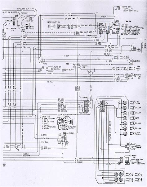1981 trans am cluster wiring diagram wiring diagrams