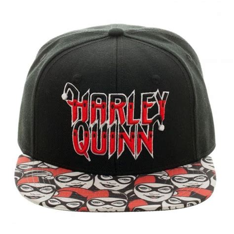 Topi Snapback Batman Black Ash authentic dc comics batman harley quinn halftone snapback hat logos cap d agde and flats