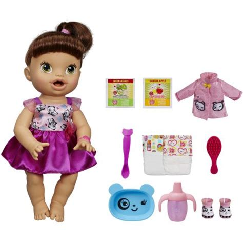 7 Accessories For Brunettes by Baby Alive My Baby All Doll With Bonus Accessories