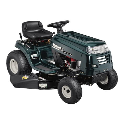 Lowes Garden Tractors by Shop Bolens 15 5 Hp Manual 38 Quot Cut Lawn Tractor At Lowes