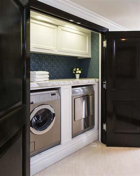 Small Laundry Closet by 60 Amazingly Inspiring Small Laundry Room Design Ideas
