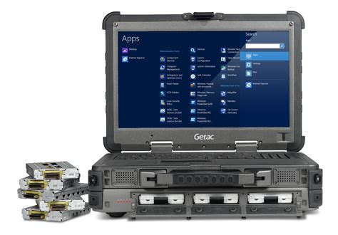 rugged gaming laptop getac announces x500 rugged mobile server notebook