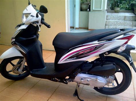 Modification Motor Spacy by Gambar Modifikasi Motor Honda Spacy Dengan Stiker Terunik