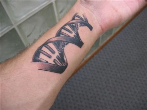 dna strand tattoo sk ink dna tattoos