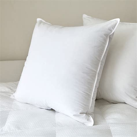 extra firm bed pillows feather pillow insert extra firm czarre fine linens