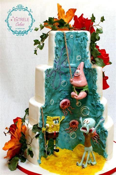 spongebob wedding cake wonderful cakes wedding cake cake and weddings