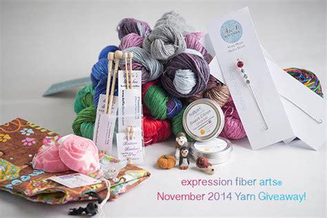 Yarn Giveaway - expression fiber arts a positive twist on yarn yarn giveaway november 2014