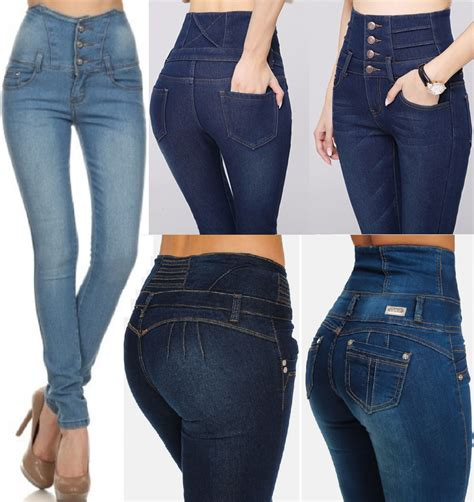 High Waist Ripped new womens high waisted ripped jeggings