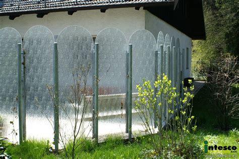 Balkon Sichtschutz Glas 344 by Sichtschutz Garten Terasse Sichtschutz Glas Intesco S R O