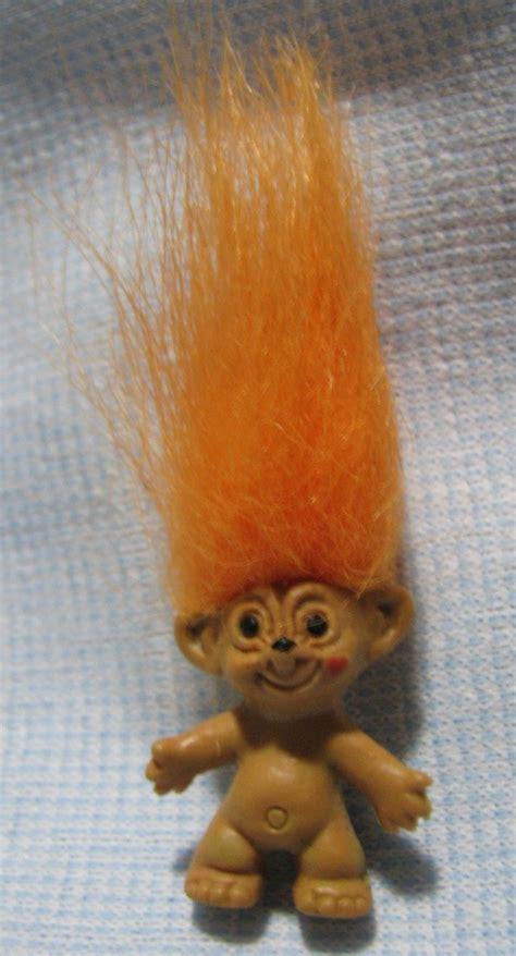 Bros Mini Hk Yellow trollikins mini troll charm imperial toys 1997