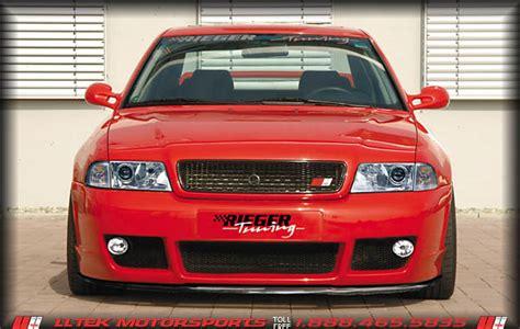 Audi A4 B5 Stoßstange Vorne by 8d B5 Sto 223 Stangen Tiefe A4 S4 Und Rieger Rs4 Look