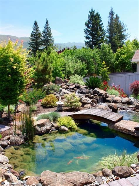 Awesome Backyards by 67 Cool Backyard Pond Design Ideas Digsdigs