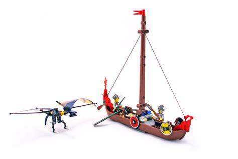 lego viking boat instructions viking boat against the wyvern dragon lego set 7016 1