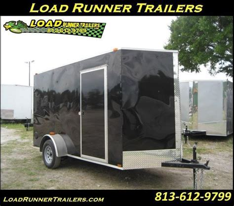 current inventory utility single axle used 6x12 utility trailer wgate enclosed cargo trailers load runner trailers ta