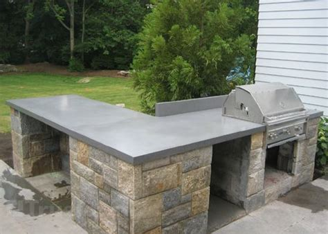 Outdoor Concrete Bar Top by 25 Best Ideas About Outdoor Countertop On