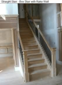 Straight Stairs by Piedmont Stairworks Curved And Straight Stair Manufacturer