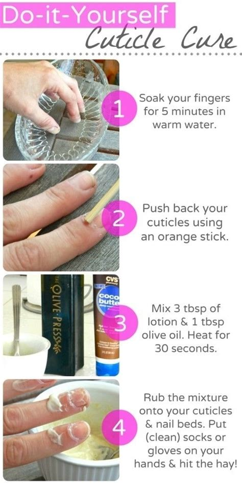 how to take care of the hair cuticle 38 diy cuticle cure 39 awesome nails hacks that make