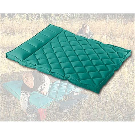 sevylor 174 box rubber cotton cing mattress with raised pillow 127434 air beds at