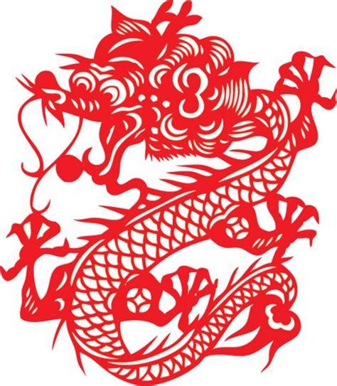 chinese pattern logo the year of the dragon 龙年 jasmine tea jiaozi