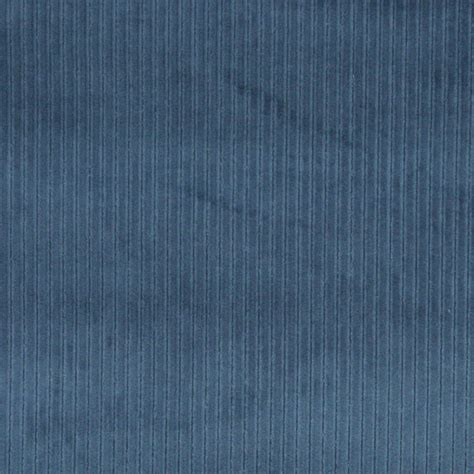 Blue stripe corduroy velvet upholstery fabric by the yard contemporary upholstery fabric
