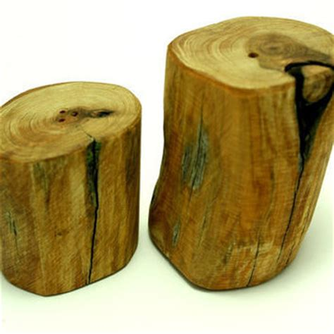 Handmade Salt And Pepper Shakers - salt and pepper shakers wood handmade from