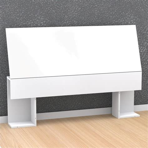 white storage headboard storage panel headboard in white 22xx03 hb