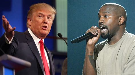 bid it donald reacts to kanye west s presidential bid it