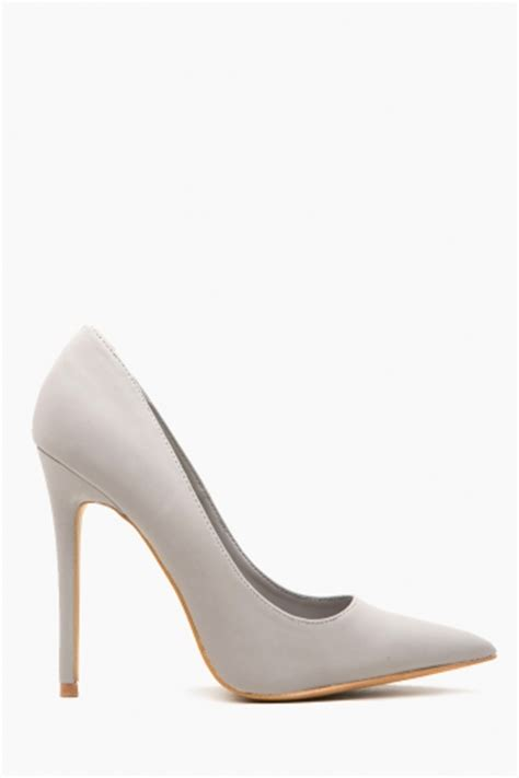 light grey suede pumps light grey faux suede pointy toe pumps cicihot