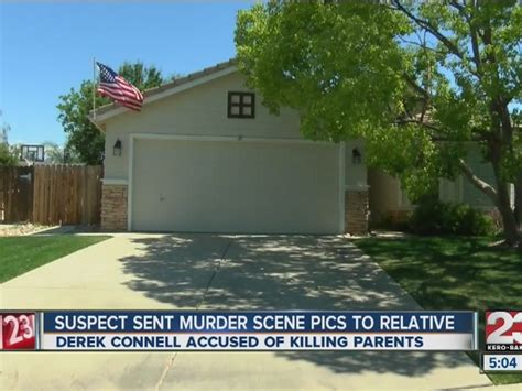 Bakersfield Warrant Search Bpd Derek Connell Sent Photos Of Dead Parents To Relative